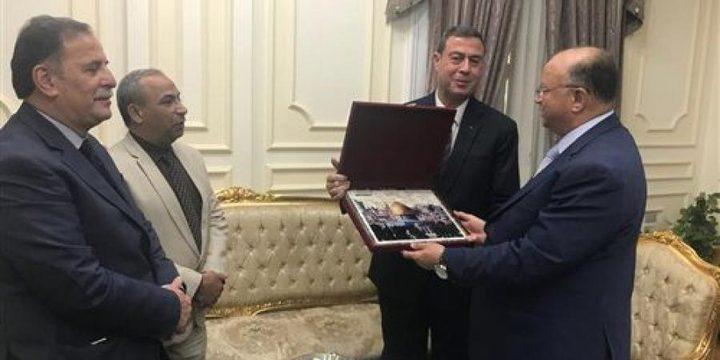 السفير دياب اللوح يلتقي محافظ القاهرة