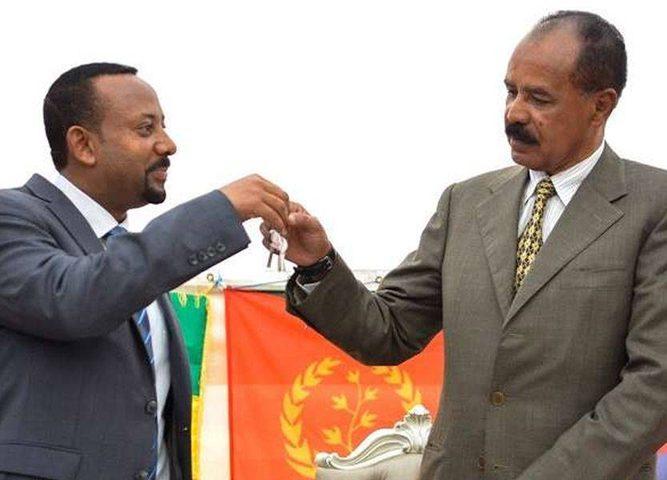 """أثيوبيا وإريتريا توقعّان """"سلام"""" برعاية الرياض"""