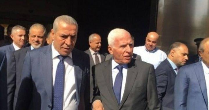 وفد فتح يصل القاهرة للاستماع لرد حماس