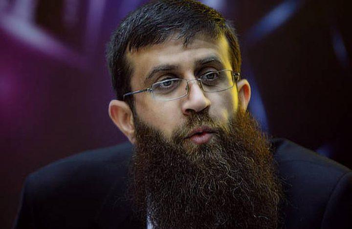 الأسير خضر عدنان يواصل إضرابه عن الطعام لليوم ال17