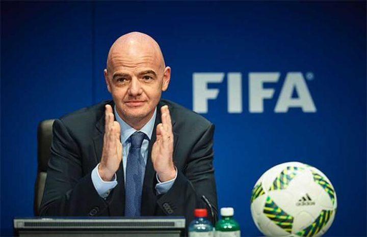 """رئيس الفيفا يسخر من """"خطط"""" الدوري الإسباني"""