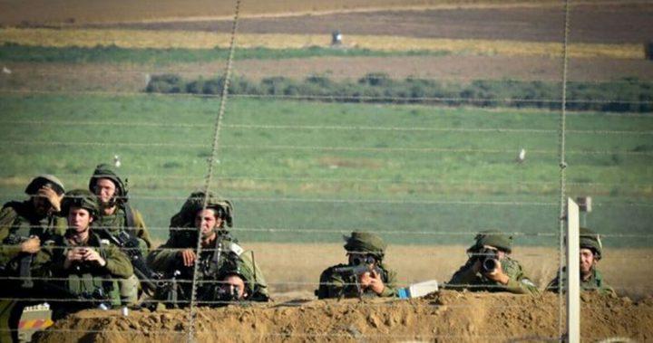 الاحتلال يُطلق النار على شبان شرقي غزة