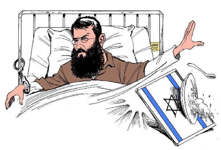 18 يوماً على اضراب خضر عدنان عن الطعام