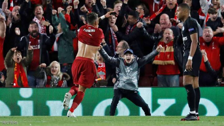 هدف فيرمينو القاتل ينقذ ليفربول أمام سان جرمان