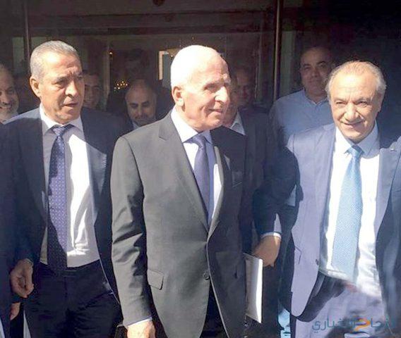 وفد فتح يجتمع للمرة الثالثة بالمخابرات المصرية