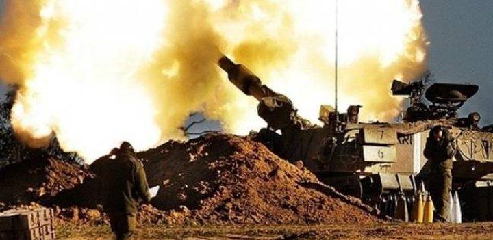 مدفعية الاحتلال تستهدف نقطة عسكرية جنوب قطاع غزة