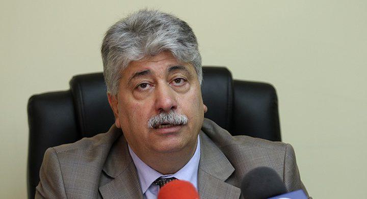 مجدلاني يدعو لموقف واضح تجاه اجراءات الاحتلال