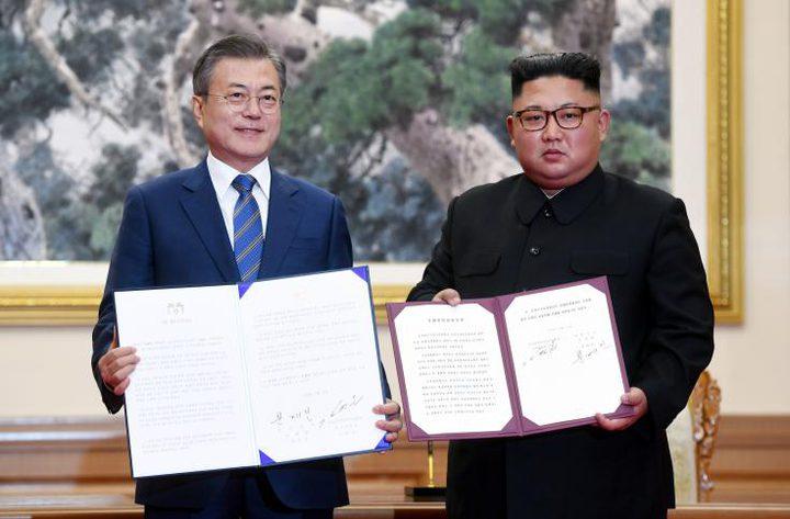 كوريا الشمالية تعد بتفكيك المواقع النووية والصاروخ