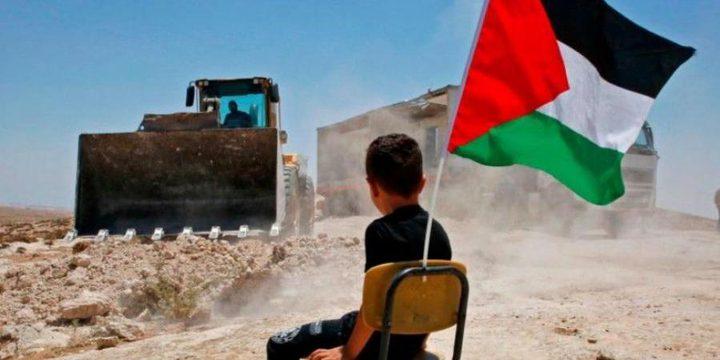 تواصل الاعتصام في الخان الأحمر لليوم الخامس عشر