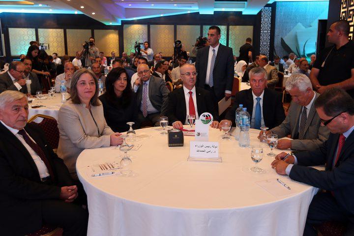 حفل جائزة مصدر فلسطين للعام 2018، حيث أعلن رئيس الوزراء د. رامي الحمد الله عن رصد مبلغ مالي لصالح صندوق ائتمان الصادرات وبدء العمل في شركة التسويق الزراعي الفلسطينية الاردنية برأس مال 20 مليون دينار