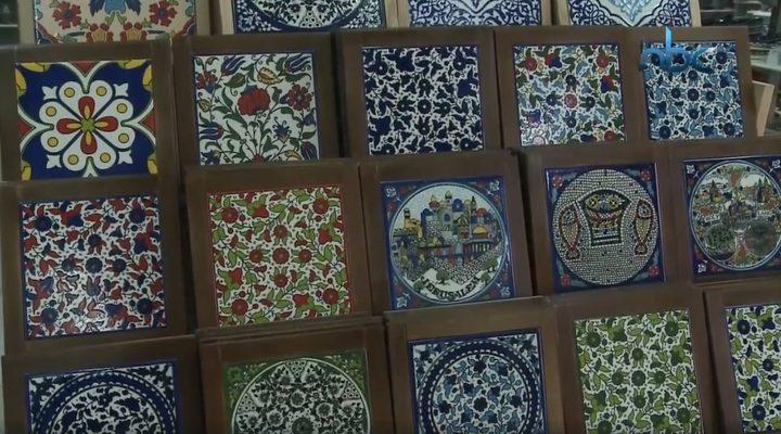 المحافظة على صناعة الزجاج والخزف في مدينة الخليل