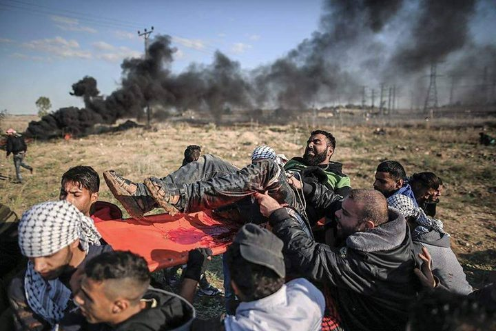 مواجهات ليلية على الحدود الشرقية لغزة