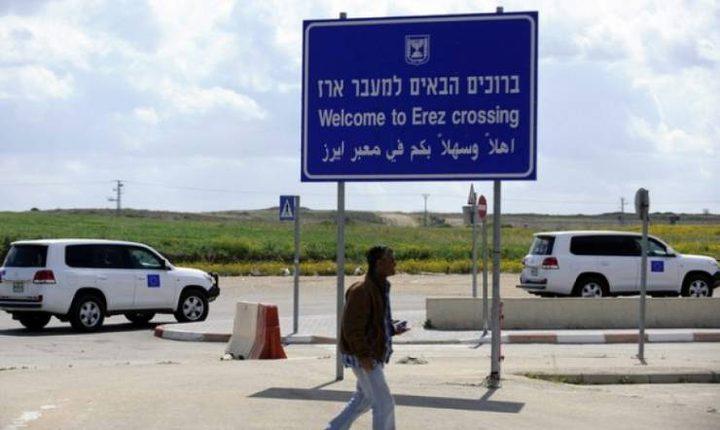 منع الاحتلال وفد الاتحاد الأوروبي من دخول غزة