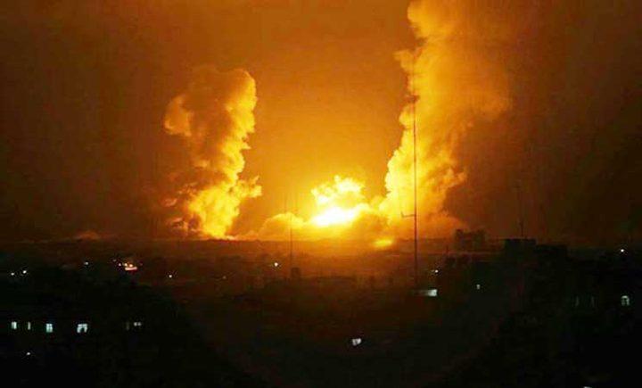 اصابة في قصف اسرائيلي شرق عزة