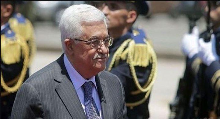 الرئيس عباس يصل باريس