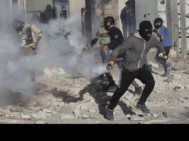 إصابات بالاختناق إثر مواجهات مع الاحتلال