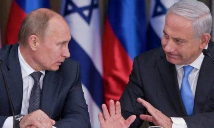 بوتين:سلاح الجو الإسرائيلي ينتهك سيادة سوريا