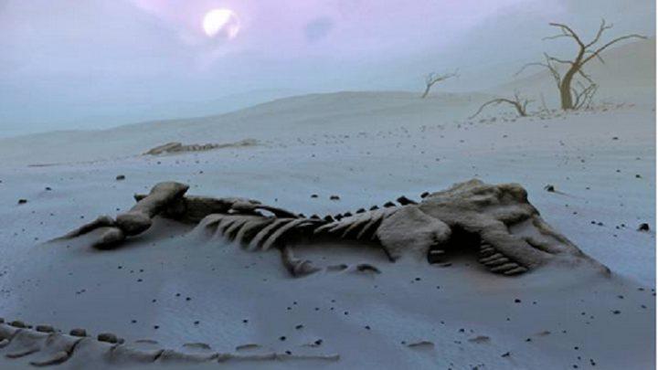 أكبر هيكل عظمي لديناصور في اليابان!