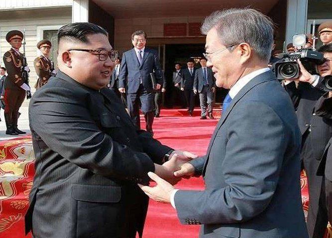 رئيس كوريا الجنوبية: زعيم الشمال يريد نزعاً سريعاً