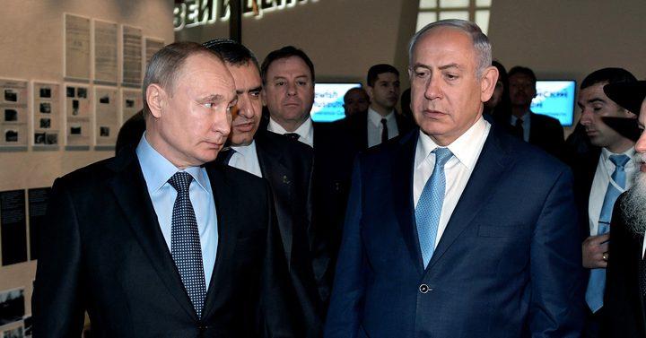 نتنياهو وبوتين يبرمان صفقة جديدة