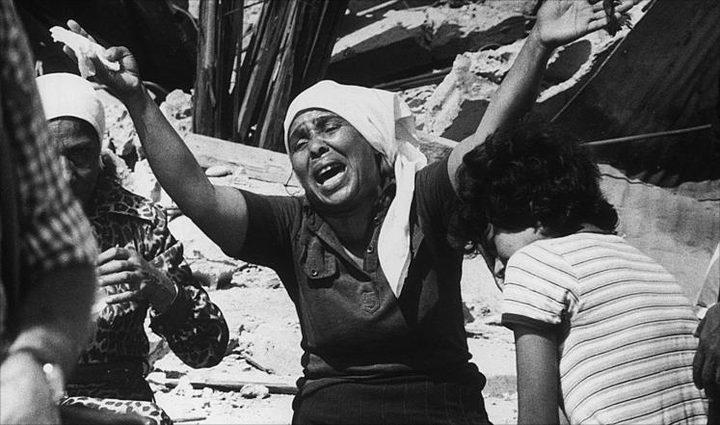 """احياء الذكرى الـ""""36"""" لمجزرة صبرا وشاتيلا في بيروت"""