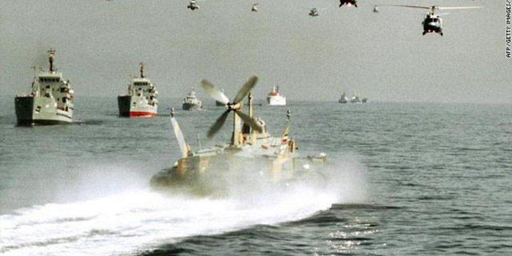 إيران تجري مناورات جوية في الخليج
