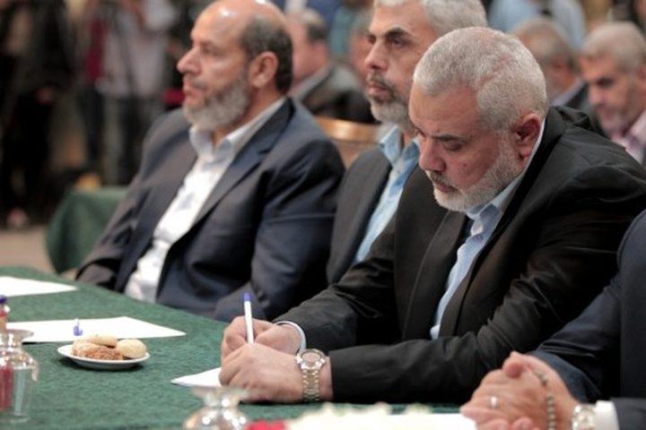مشاورات في حماس لاعادة إحياء اللجنة الإدارية بغزة