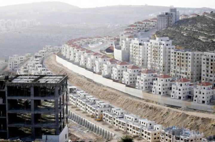 الاحتلال يبدأ ببناء 310 وحدات استيطانية