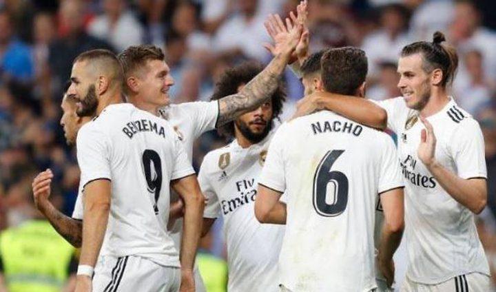 مفاجآت في قائمة ريال مدريد لمواجهة إسبانيول