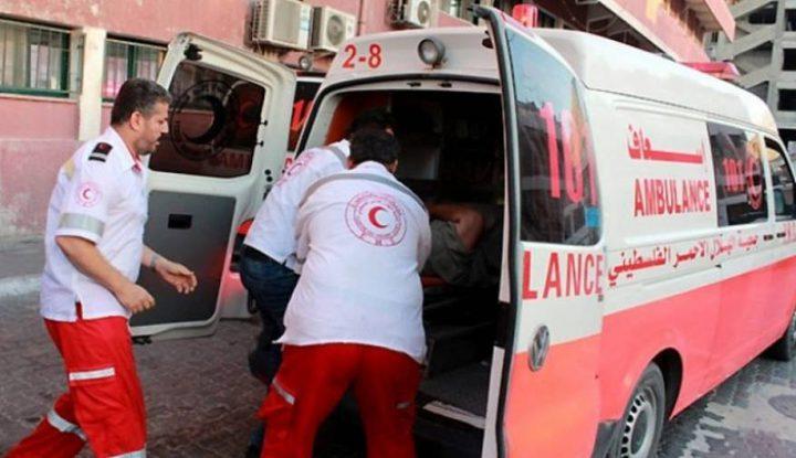 اصابة 3 مواطنين بحادث سير وسط القطاع