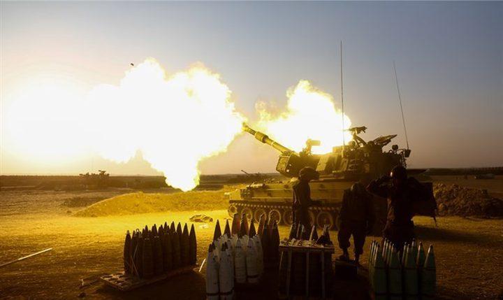الاحتلال يستهدف مجموعة من الشبان شرق غزة بصاروخ
