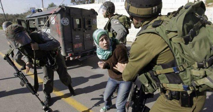 """""""هيئة الأسرى"""": الاحتلال يعتقل طفلة مقدسية"""
