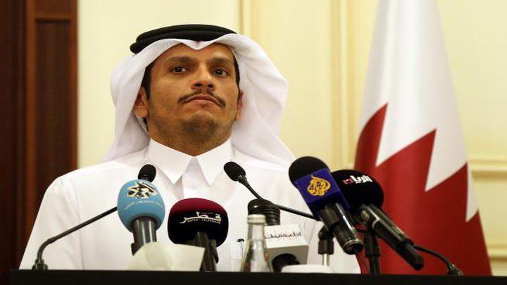 قطر تنفي شائعات رسالة مكتب نتنياهو