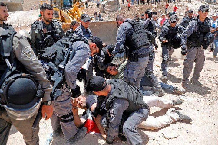 حكومة الوفاق: اخطار الاحتلال للخان الأحمر مرفوض