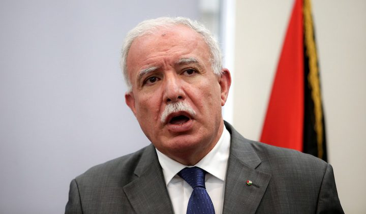 المالكي: عقد اجتماع تشاوري دولي لحماية حل الدولتين