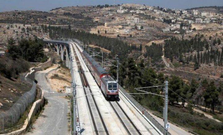 خط قطارات سريعة بين تل أبيب والقدس يثير غضباً