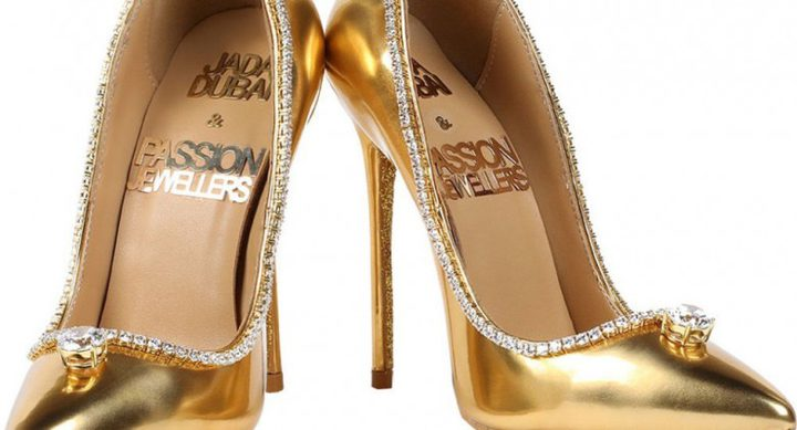 أغلى حذاء في العالم ثمنه 17 مليون دولار