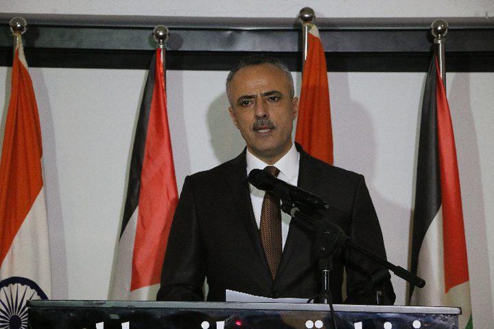 وزير العدل: اجتماعات التشريعي في غزة غير دستورية