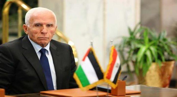 الأحمد: فتح تتمسك بالجهود المصرية  لإنهاء الإنقسام