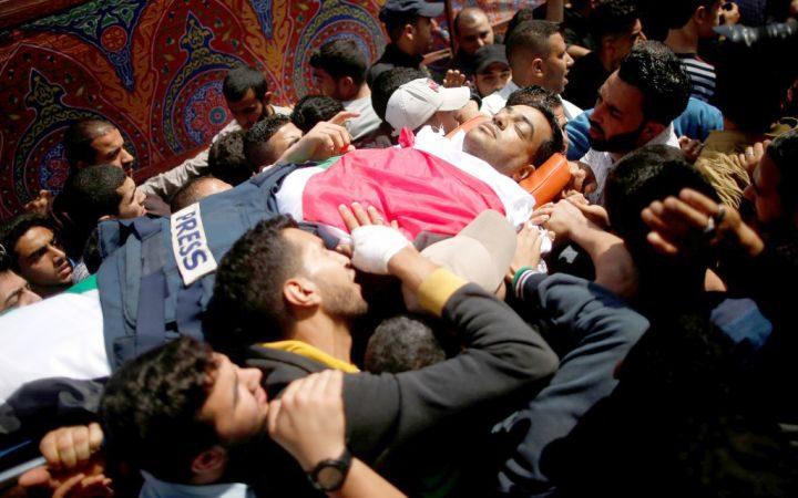 130 انتهاكاً إسرائيلياً بحق الصحفيين