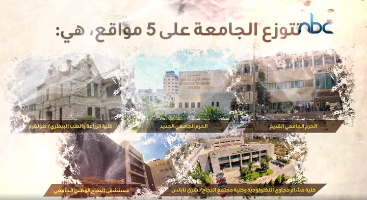 جامعة النجاح الوطنية.. 100 عام من النجاح