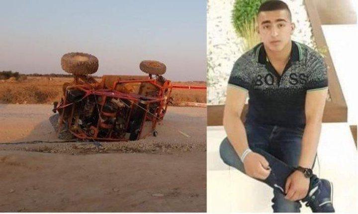 النقب: مصرع الشاب أبو عرار في حادث انقلاب دراجته