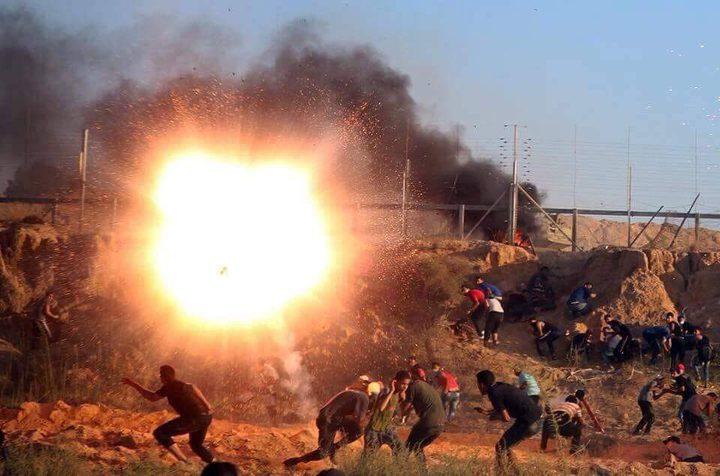 7 شهداء و 506 إصابات برصاص الاحتلال شرق غزة