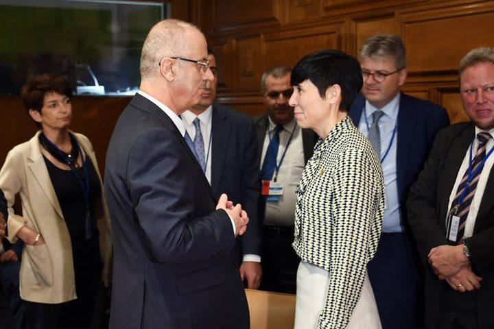 مشاركة رئيس الوزراء د.رامي الحمدلله في الاجتماع الخاص بلجنة تنسيق مساعدات الدول المانحة، في مقر الأمم المتحدة بنيويورك.