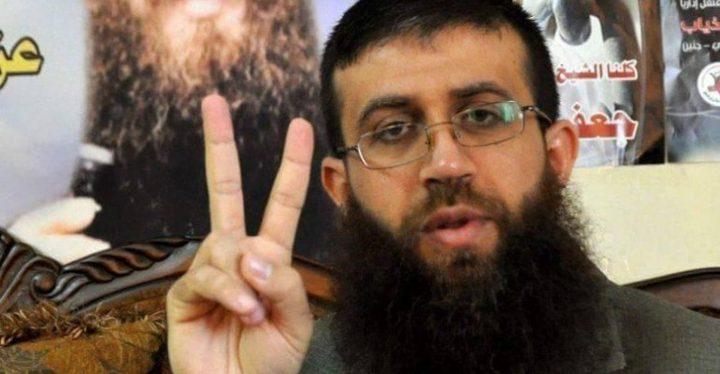الاسير خضر عدنان يواصل اضرابه عن الطعام