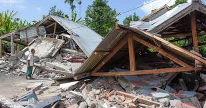 زلزال عنيف  يضرب وسط إندونيسيا وإنذار من تسونامي