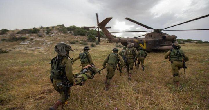 تدريبات عسكرية مفاجئة لقوات الاحتلال بالجليل