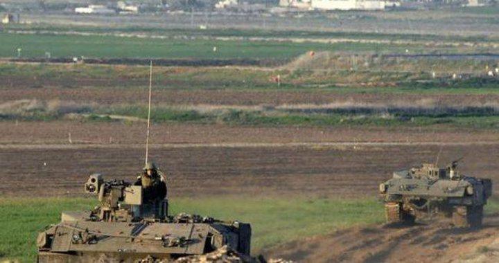 الاحتلال يطلق النار تجاه الأراضي الزراعية شرق غزة