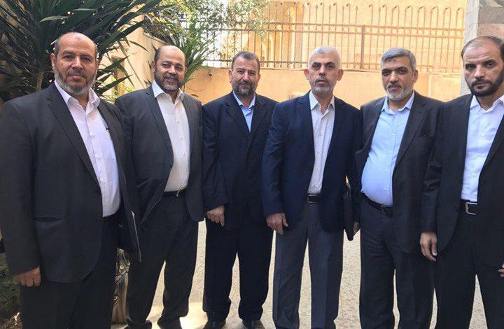 وفد من حماس يتوجه الى القاهرة