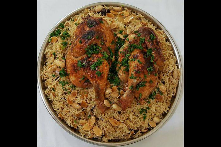 أرز بخاري بالدجاج